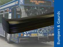 RIM Molded Bus Bumpers